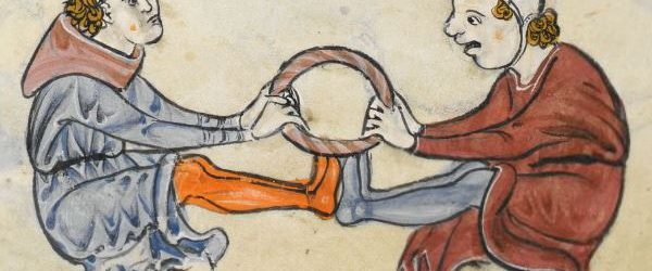 The Rutland Psalter (c1260), British Library Add MS 62925. f 69v